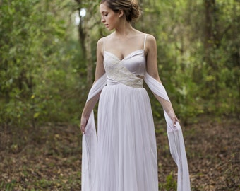 Wilde cut out wedding gown