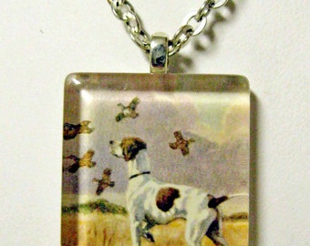 Pointer pendant and chain - DGP01-069