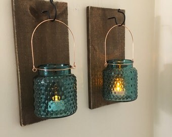 sconce quart mason jar hanging wall sconce replacement glass