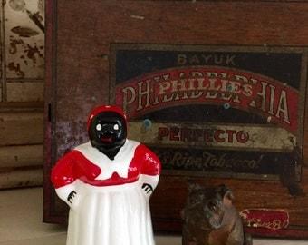 Mammy BELL / Vintage Black Americana / ceramic bell