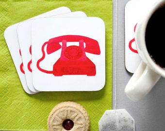 Telephone Coaster