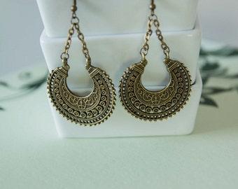 Bronze Gypsy Earrings