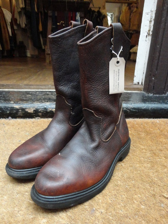 Vintage Red Wing 1101 pecos work boots US 8 motorcycle cowboy