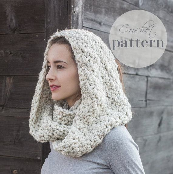 Crochet Patterns // Infinity Scarf Pattern // Beginner Crochet