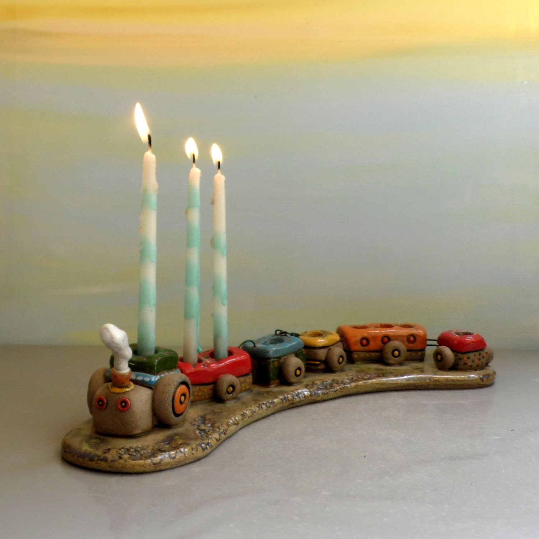 Hanukkah menorah hanukkah decoration children menorah for Decoration hanouka