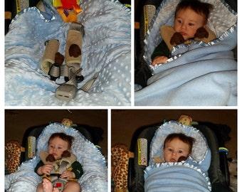Car Seat Blanket, Baby Burrito Blanket