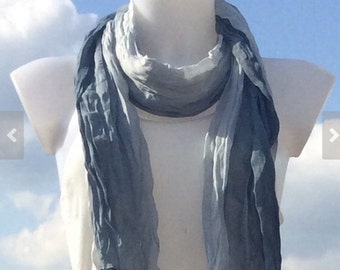 Gray Scarf Scarves For Women Unique Scarves Fashion Scarves Winter Spring Scarves Womens Scarves Shawl Fall Scarf Mother Daughter Scarves