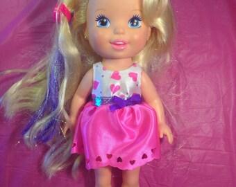 Tyco 1994 Purple Hi lighted doll