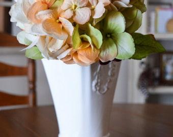 Wedding Centerpiece Hydrangea Flowers   Blended Hydrangea Stem   Artificial Silk Hydrangea   Wedding Hydrangea   Weddings Floral Decorations