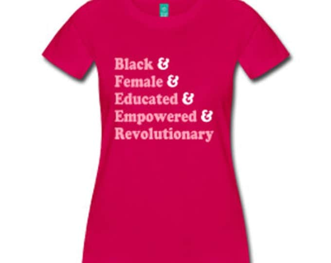 Traits of the Black Woman Fitted T-Shirt - Fuschia
