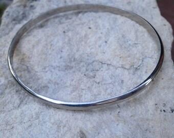Vintage Sterling Silver Bangle Bracelets