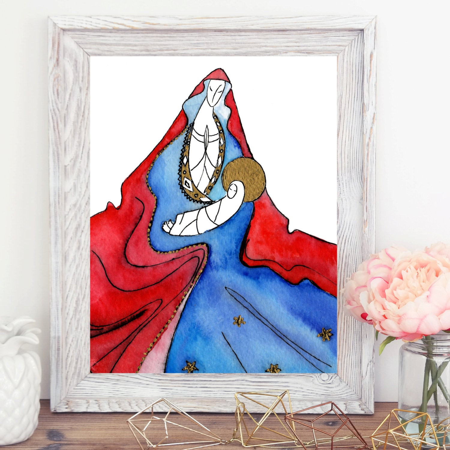Home Interior Jesus: Jesus Art Home Decor Birthday Gift Christmas Gift For