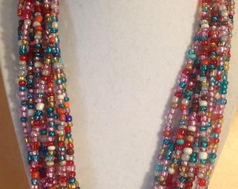 Bead sensation necklace