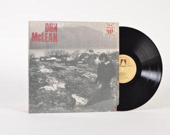 "DON McLEAN - ""Don McLean"" vinyl record"
