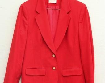 80's Pendleton Wool Blazer