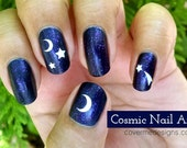 Cosmic Vinyl Nail Decals ...