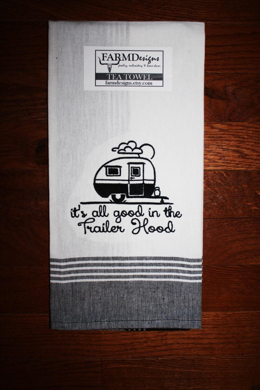 Vintage Camper Decor Its All Good In The Trailer Hood Camper