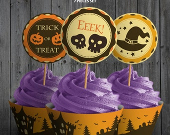 Halloween Cupcake Decor