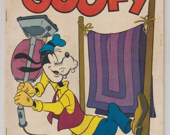 Four Color Comics: Walt Disney's Goofy; Vol 2, 627, Golden Age Comic Book. VG (4.0). 1955. Dell Comics.