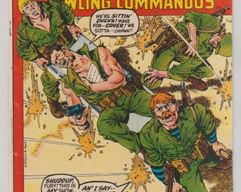 Sgt. Fury and his Howling Commandos; Vol 1, 96, Bronze Age Comic Book. FN. March 1972. Marvel Comics