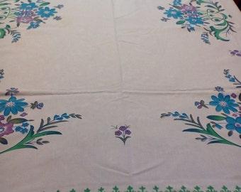 Three Vintage cutter tablecloths, Vintage linens, Linens for crafters, Tablecloths for use in crafts