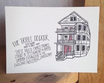 The Triple Decker Print