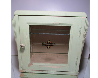 Sterilizer Cabinet - Medical/Dental/Barber - 1930's  ~~10% OFF with Code CUPIE10 ~~