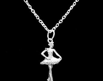 Gift For Her, Ballet Ballerina Dance Dancer Gift Necklace