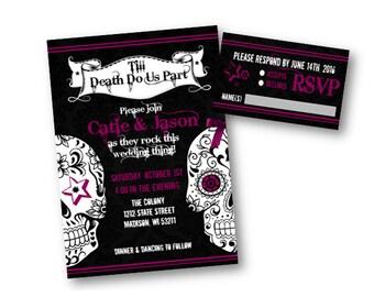Sugar skull wedding Etsy