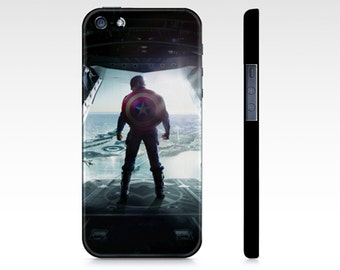 Captain America Phone case - iPhone 4/4S/5/5S/6/6+ - Samsung Galaxy S3/S4/S5/S6