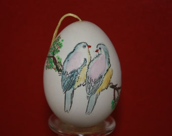 Chinese painted egg, egg ornament, Easter egg ornament, Chinese egg,