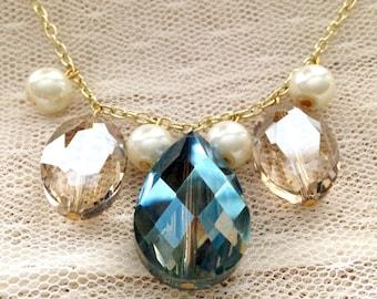 Jewel Pendant Necklace