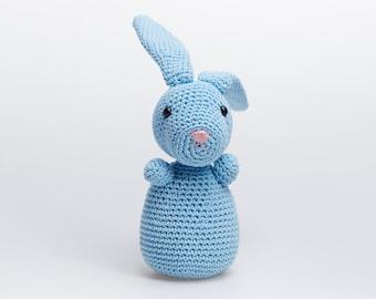 Woodland Amigurumi,Bunny Plush,Stuffed Bunny,Bunny Baby Gift,Bunny Crochet,Plush Bunny,Bunny Stuffed Animal,Amigurumi Bunny,Plush Rabbit
