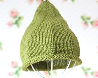 Forest Knit Pixie Hat