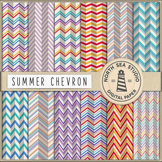 buy5for8 chevron digital paper chevron paper colorful zigzag