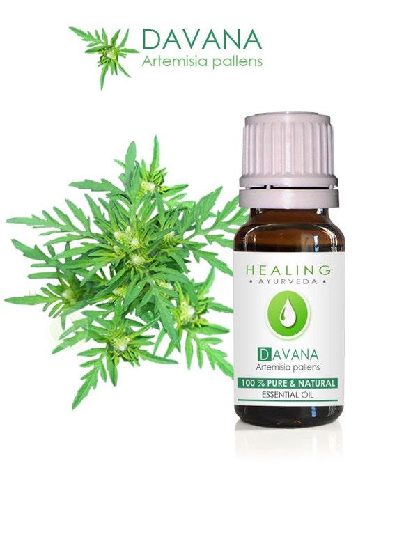 Davana Essential oil- 100% Pure essential oil-Davanam- Aromatherapy essential oil Davana- Ayurveda essential oil-Natural Davana