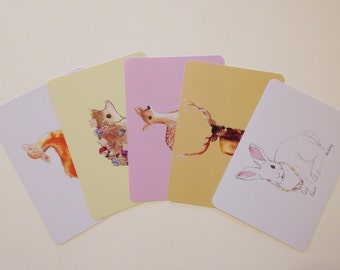 Pack of 5 Postcard Prints