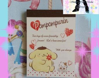 Cute Pompompurin Mini Notepad