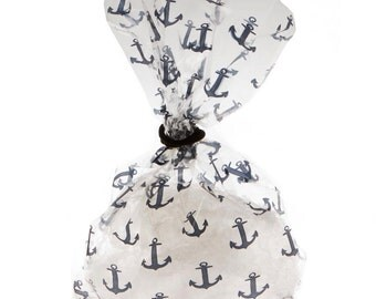 12/ Nautical cello Bags /party favors /favor bag / treat bags