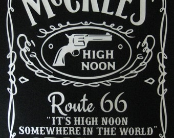 McCree's High Noon Inspired Tee T Shirt Top Route 66