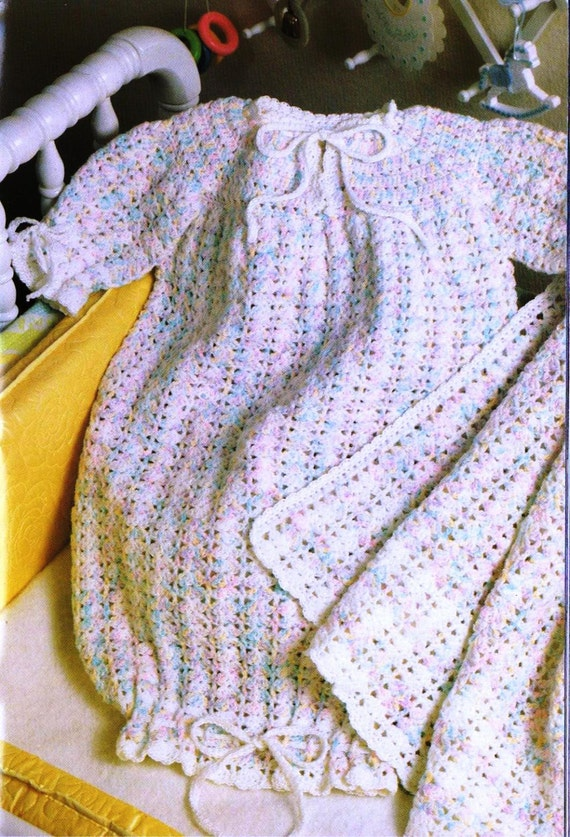Crochet Beaded Bag Pattern : Crochet Infant Baby Bunting & Afghan Patterns by ...