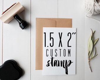 Custom Stamp- Logo Stamp- Personalized Stamp-- Custom Rubber Stamp- Wedding Stamp- CUSTOM STAMPS- Handmade Stamps