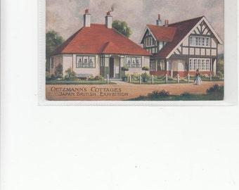 Oetzmann's Cottages-Bungalows Dwellings Great Britain-Advertising Postcard-London
