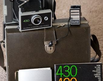 Polaroid 430 Land Camera- Vintage