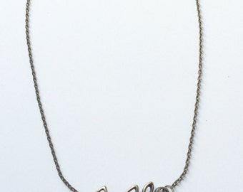 Birdie and branch necklace