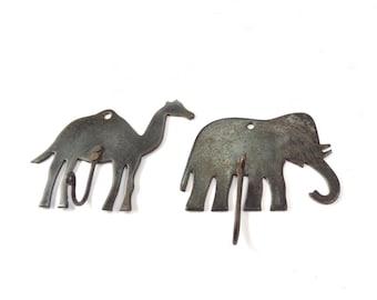 Camel Hook Vintage Animal Hooks Vintage Coat Hooks Childrens Bedroom Hooks  Animal Theme Hooks Nursery Hooks