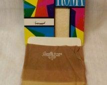 1963 Gianella di Roma Back Seam Sheer Nylons Size 10  Pin Up Girl Nylons