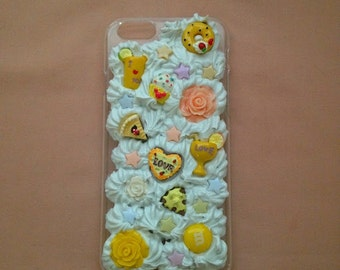 Yummy Yellow Decoden Iphone 6S Phone Case