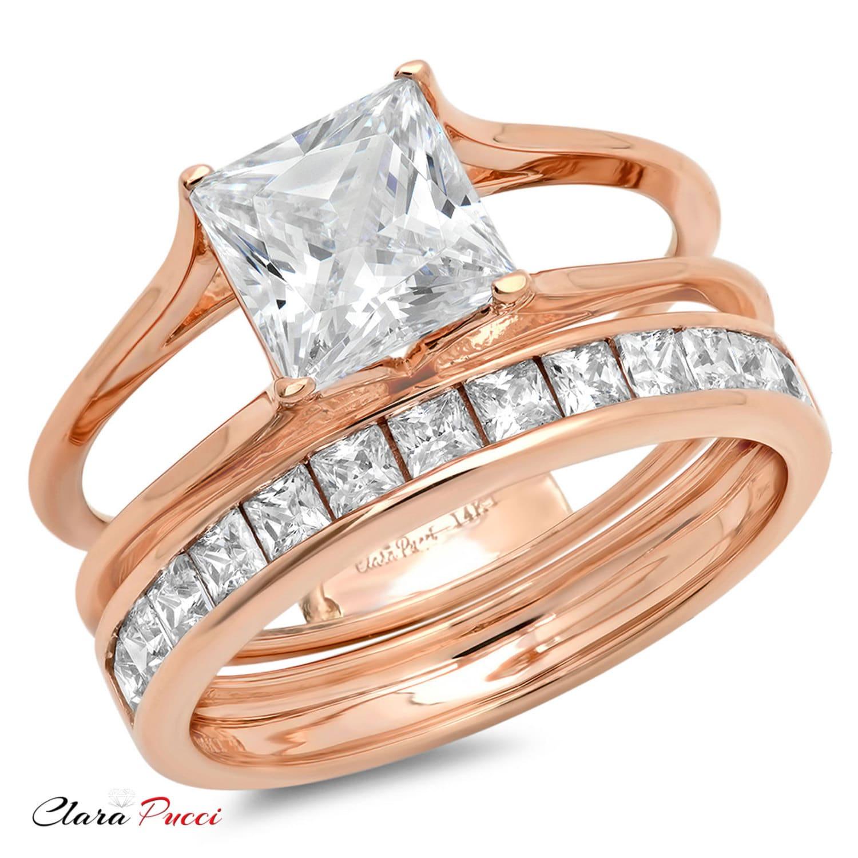 bridal halo sets for women women bridal rings sets women