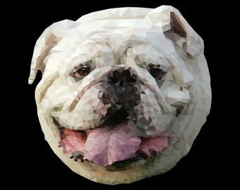 Bulldog Polygon Picture
